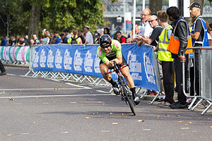 2014 Tour of Britain - Sebastian Lander, overall winner of the Sprint Classification
