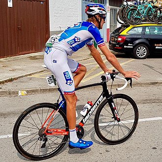 Tobias Ludvigsson - Ludvigsson at the 2017 Vuelta a España.