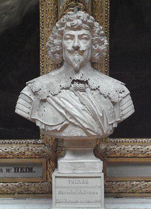Jean Caylar d'Anduze de Saint-Bonnet - Bust of Toiras at Galerie des Batailles, Palace of Versailles.
