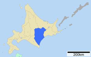 Tokachi Subprefecture - Image: Tokachi Subprefecture