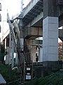 Tokaido Shinkansen maintenance workers stair - Magome.jpg