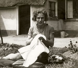 Tollien Schuurman - Tollien Schuurman in 1932