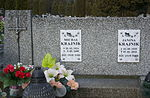 Tomb of Janina and Michał Krajnik at Central Cemetery in Sanok 2.jpg