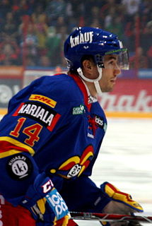 Tomi Mäki Finnish ice hockey player