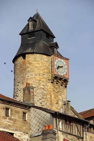 Bar-le-Duc - Clock tower