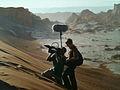 Tournage dans la vallée de la lune au Chili.JPG