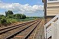 Towards Wrexham, B5069 level crossing, Gobowen (geograph 4024027).jpg
