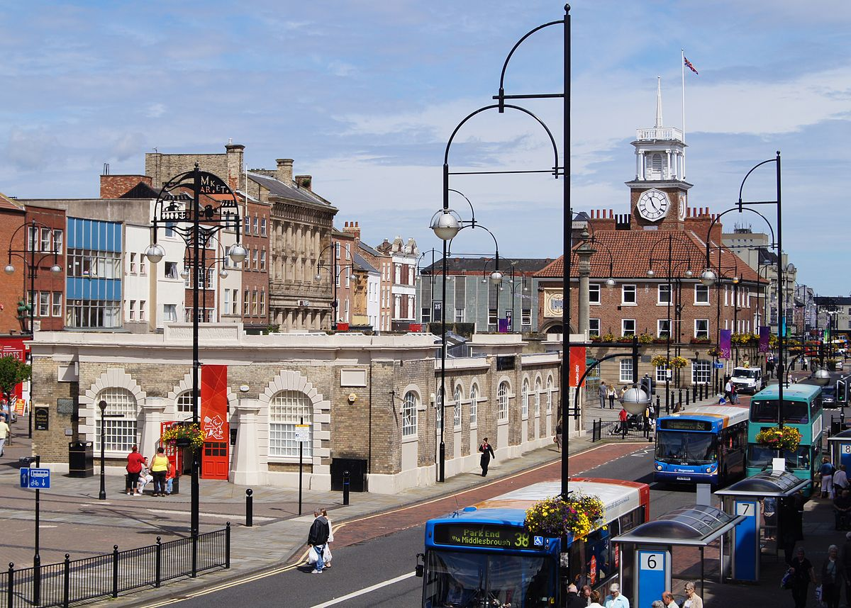 Stockton High Street - The widest street in the UK