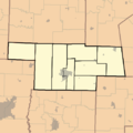 Townships im Audrain County Missouri.png