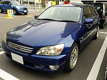 Toyota ALTEZZA RS200 (SXE10) front.JPG