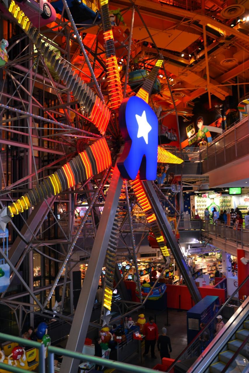 ToysRus New York Flagship store interior 2011