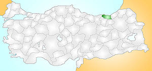 Trabzon Turkey Provinces locator.jpg