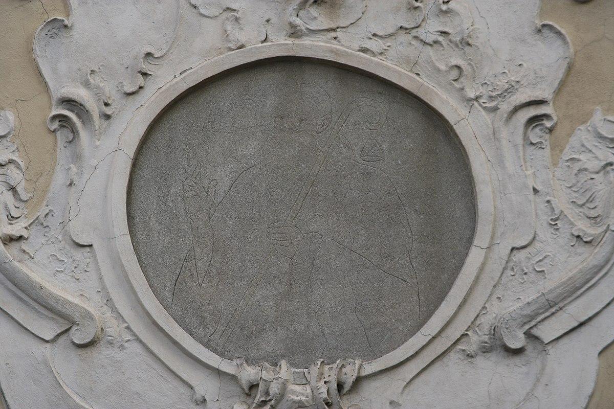 File tracce dell 39 affresco raffigurante sant 39 antonio abate for Arredo bimbo sant antonio abate