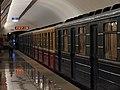 Track geometry train at Maryina Roshcha station (Путеизмеритель на станции Марьина Роща) (4802009123).jpg
