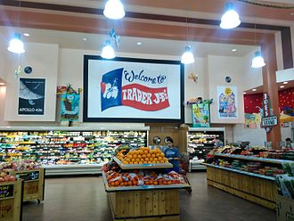 Trader Joe's - Interior of Trader Joe's in the Alabama Theatre in Houston