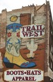 Trail West Boots, Hats, Apparel, mural in downtown Nashville, Tennessee LCCN2010646304.tif