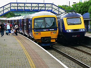 Hungerford railway station - Trains at Hungerford Station