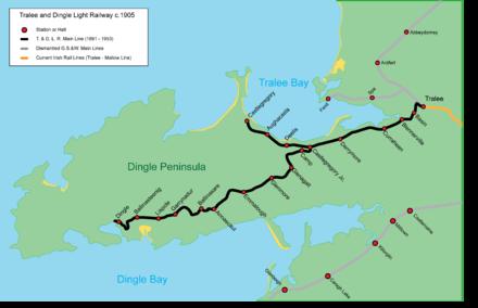 Tralee and Dingle Light Railway - Wikipedia on