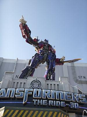 Transformers: Revenge of the Fallen - Optimus Prime, Universal Studios Florida