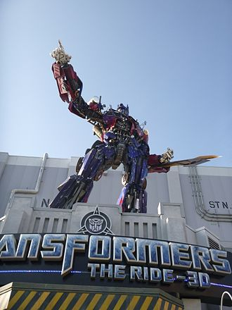 Transformers: Revenge of the Fallen - Optimus Prime, Universal Studios Florida