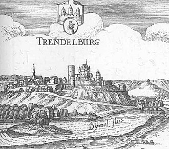 Trendelburg - Trendelburg, 1655 (Topographia Hassiae)