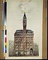 Tribune Building, New York City. Preliminary elevation. Rendering LCCN2011648074.jpg
