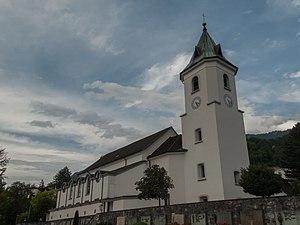 Triesen - Image: Triesen, Pfarrkirche Sankt Gallus foto 3 2014 07 20 17.18