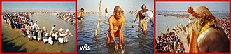 21st century - India's Prayag Kumbh Mela is regarded as the world's largest religious festival.