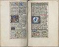 Trivulzio book of hours - KW SMC 1 - folios 128v (left) and 129r (right).jpg