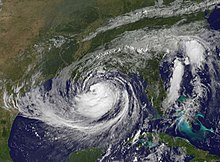 Isaac before peak intensity.