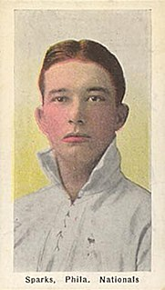 Tully Sparks American baseball player
