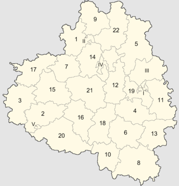 деление области