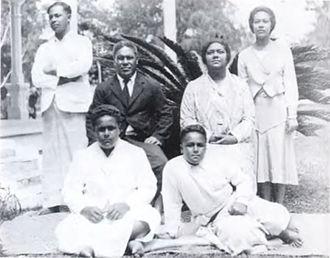 Viliami Tungī Mailefihi - Image: Tupou 1930