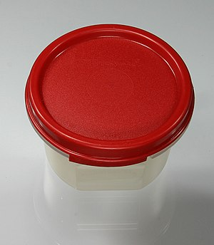 Earl Tupper - An example of Tupperware.