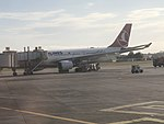 Turkish Airlines A330 at Jose Marti Airport, Havana.jpg