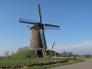 Steenderen - Image: Tussen Steenderen en Bronkhorst, molen foto 4 2011 02 17 11.45