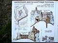 Tustan Skolivskyi Lvivska-inform board on fort-1.jpg