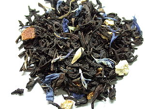 Earl Grey tea - Lady Grey tea leaves