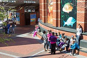 Two Oceans Aquarium - Image: Two Oceans Aquarium entrance