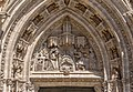Tympan Portail de San Miguel cathédrale Seville Spain.jpg