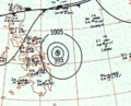 Typhoon Gilda surface analysis 17 Dec 1959.png