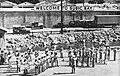 U.S. Navy band playing at Naval Base Subic Bay, circa in 1957.jpg