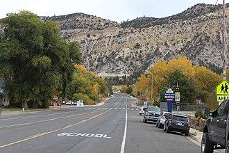 Orderville, Utah - E. State Street in Orderville