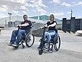UNAwheel Mini Active and UNAwheel Mini Basic wheelchair power add-ons in Los Angeles.jpg