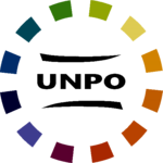 Logo officiel de l'Unrepresented Nations and Peoples Organization (UNPO)