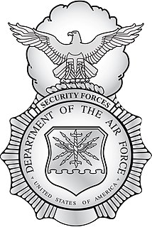 United States Air Force Security Forces Shield