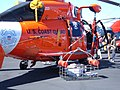 USCG HH-65 Dolphin rescue basket.JPG