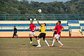 USS Bonhomme Richard sailors play soccer in Malaysia 150224-N-UF697-212.jpg