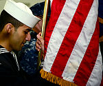 USS George H.W. Bush honor guard practice 130311-N-TB177-013.jpg