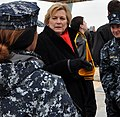 USS Gerald R. Ford island installation with Susan Ford Bales (130126-N-YX169-191) (cropped1).jpg